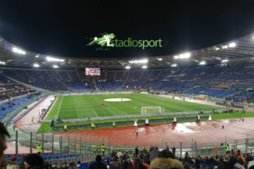Stadio Olimpico - Roma-Milan, 26° giornata Serie A (foto Esclusiva Stadiosport.it del nostro inviato Gabriele Arcifera) ©RIPRODUZIONE RISERVATA