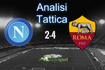 Analisi tattica Napoli-Roma, 27° giornata di serie A