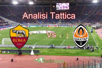 Roma-Shakhtar Donetsk, ritorno ottavi di Champions League