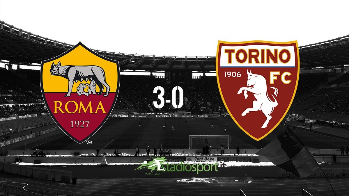 roma-torino 3-0