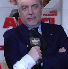 Aurelio De Laurentiis, presidente del Napoli Fonte: Wikipedia