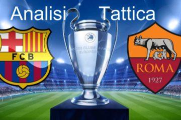 Barcellona - Roma, quarti di finale Champions League, analisi tattica