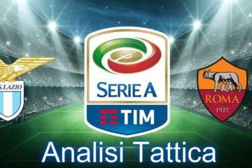 Lazio-Roma, Analisi tattica della 32° giornata di Serie A 2017-18