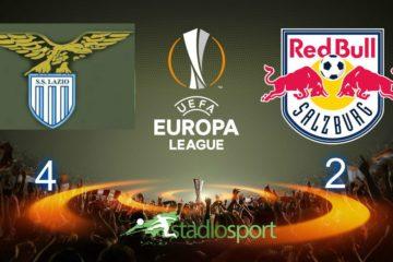 Lazio-Salisburgo, andata quarti di finale Europa League.