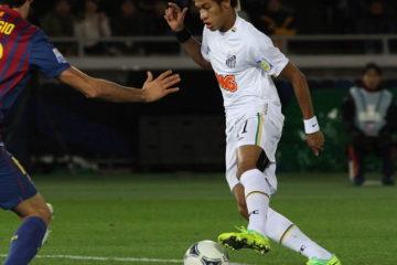 Neymar, attuale attaccante del Psg e simbolo del Brasile. Fonte: Wikipedia
