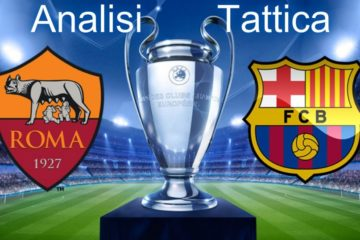 Analisi tattica di Roma-Barcellona, ritorno dei quarti di finale di Champions League