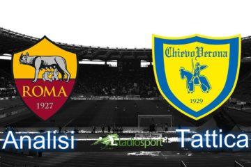 Roma-Chievo, analisi tattica 35° giornata di Serie A