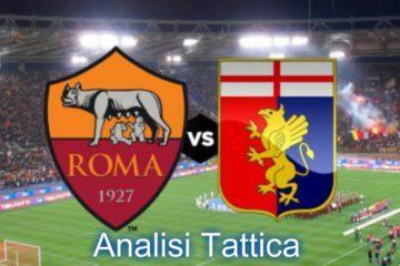 Roma_Genoa, analisi tattica 33° giornata di Serie A