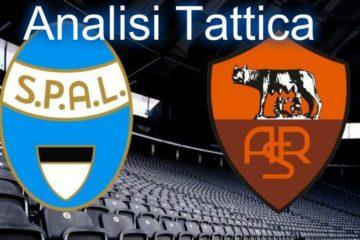 Spal-Roma, analisi tattica 34° giornata di Serie A.