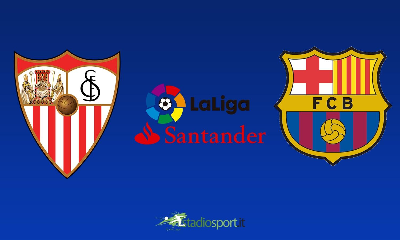 Liga, Siviglia-Barcellona 2-2: Messi salva il Barça all'ultimo ...