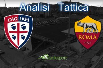 Cagliari-Roma, analisi tattica 36° giornata di Serie A