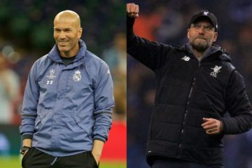 Real Madrid-Liverpool zidane klopp