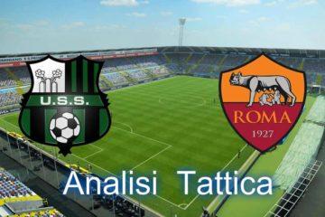 Sassuolo-Roma, analisi partita 38° giornata di Serie A