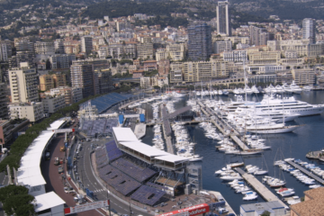 Panoramica della zona delle Piscine e della Rascasse, del circuito di Monaco (foto da: commons.wikimedia.org)