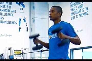 Dlabert, terzino dell'Inter. Fonte: Youtube