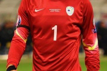 Samir Handanovic, portiere dell'Inter. Fonte: Wikipedia