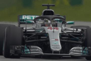 Lewis Hamilton si conferma al Red Bull Ring e si prende la miglior prestazione anche nella PL2 (foto da: twitter.com/F1)