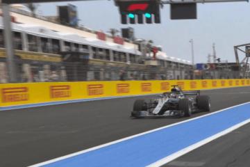 Lewis Hamilton partirà in pole al Paul Ricard di Le Castellet (foto da: twitter.com/F1)