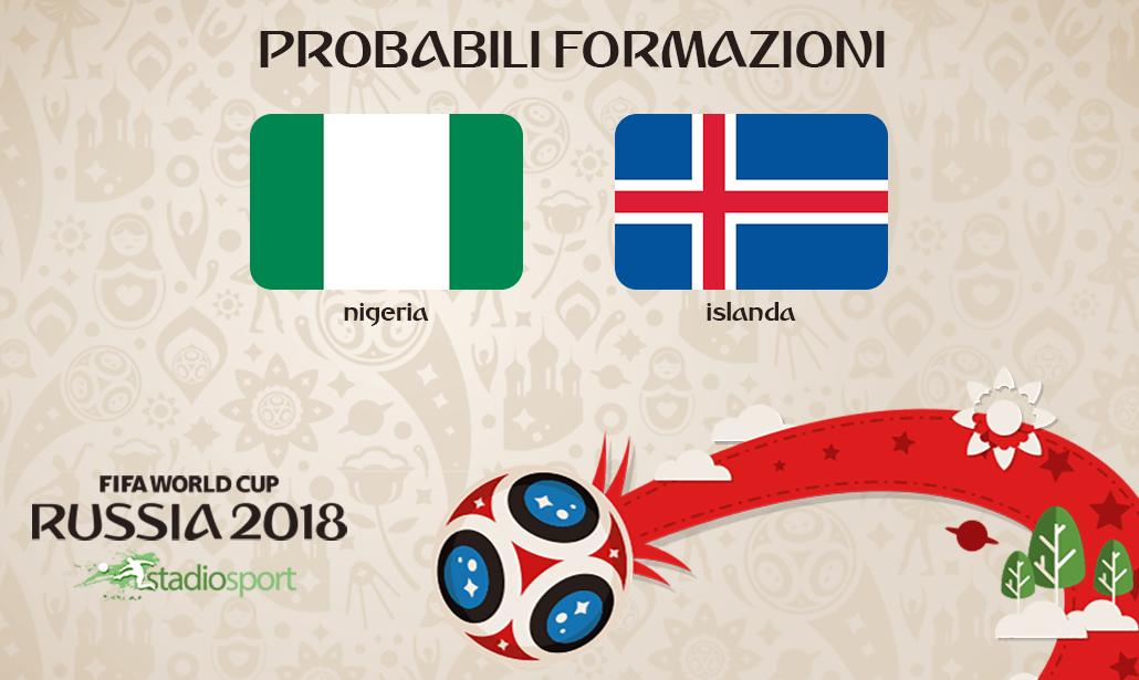 nigeria-islanda probabili formazioni mondiali