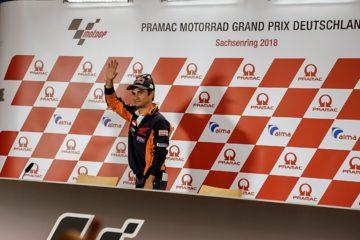 Dani Pedrosa appenderà il casco al chiodo alla fine della stagione in corso. Al Sachsenring, lo spagnolo ha ufficializzato la sua decisione (foto da: motogp.com)