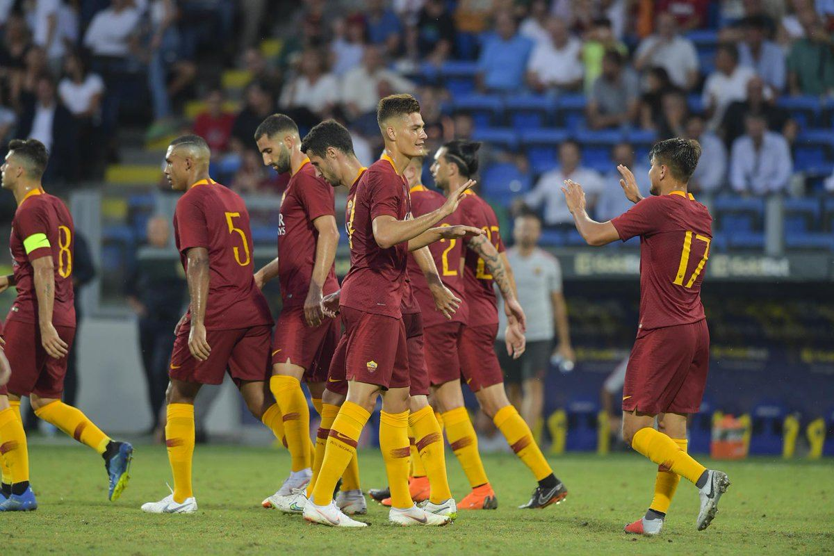 roma avellino 1 -1 schick