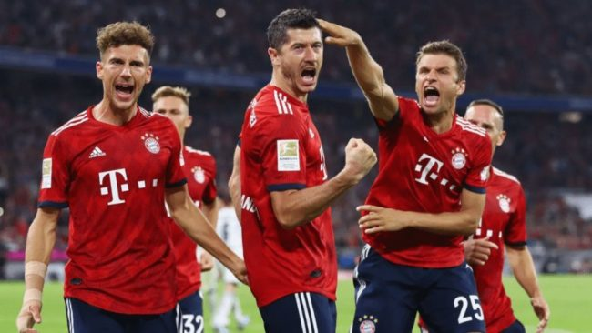 bundesliga Bayern Monaco-Hoffenheim lewandowski muller