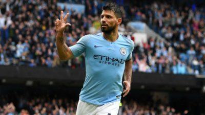 Il campione del Manchester City, Sergio Aguero