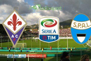 Fiorentina-Spal, 5° giornata di Serie A.