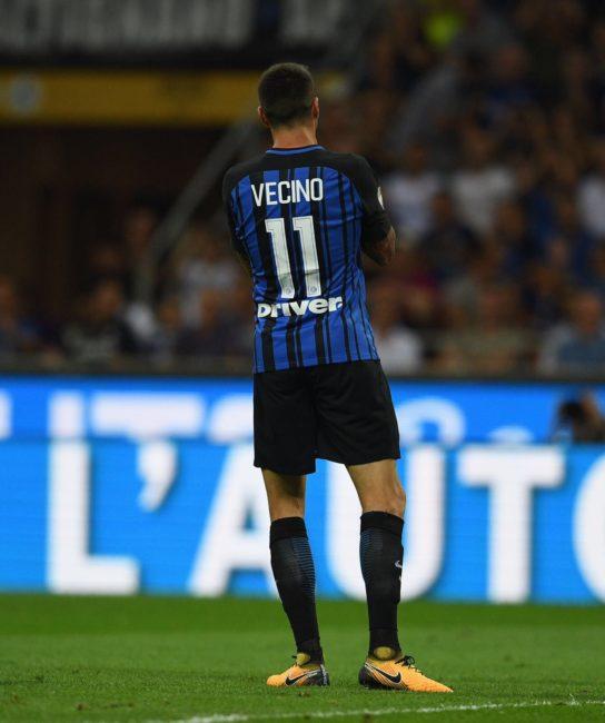 Calciomercato Napoli: piace Vecino dell'Inter