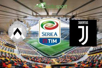 Udinese-Juventus, 8° giornata di Serie A.
