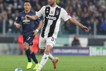 Pjanic, autore di una grande prestazione contro il Manchester United. Fonte: Twitter Juventus FC