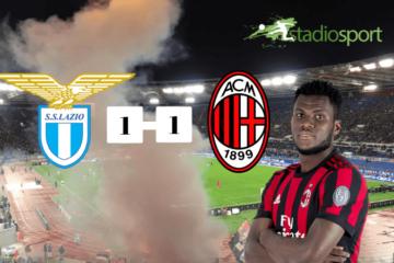 Analisi Lazio-Milan 1-1