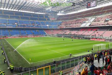 Stadio San Siro - Milan-Parma, 14° giornata Serie A (foto Esclusiva Stadiosport.it del nostro inviato Rocco Calandruccio) ©RIPRODUZIONE RISERVATA