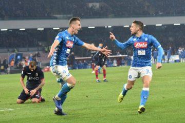 """Fonte account """"Twitter"""" ufficiale dell' SSC Napoli"""