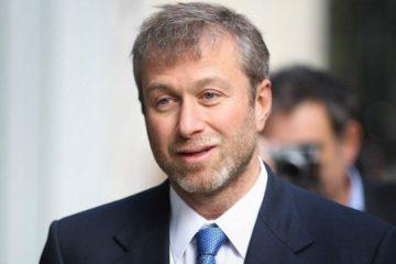"""Foto del proprietario del Chelsea Roman Abramovich, fonte """"Twitter"""""""