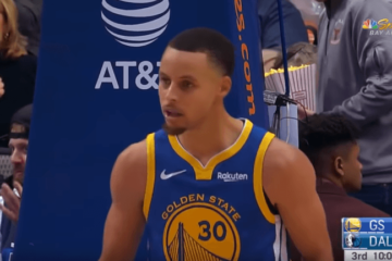 Uno Stephen Curry versione MVP (48 punti, 6 rimbalzi e 5 assist, con 11/19 da tre) ha guidato i Golden State Warriors alla vittoria esterna sul campo dei Dallas Mavericks (foto da: youtube.com)