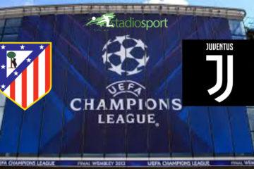 Atletico Madrid-Juventus, andata ottavi di finale di Champions League.