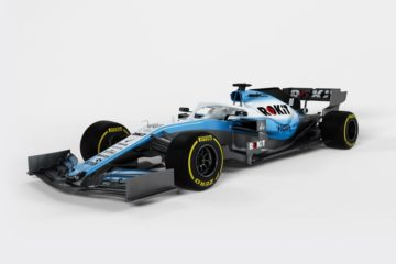 Il rendering della nuova FW42, che muoverà i primi passi martedì prossimo a Barcellona. Fonte: Twitter Williams