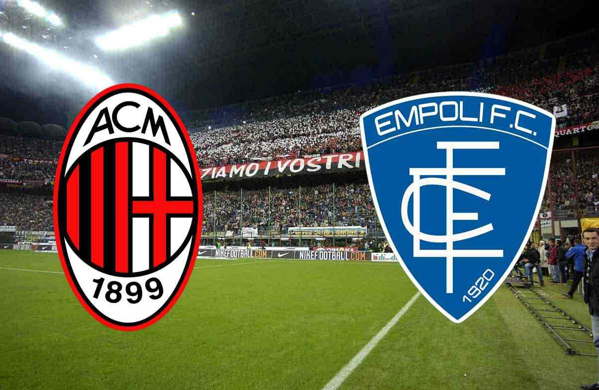 Milan Empoli Diretta Streaming Live 25 Giornata Serie A 22 2 2019 Stadiosport It