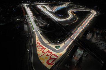 Immagine dall'alto del circuito del Gp del Bahrein Fonte. Twitter Formula 1