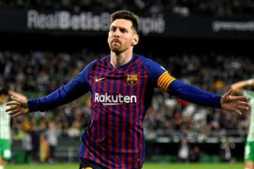 Betis Barcellona Messi