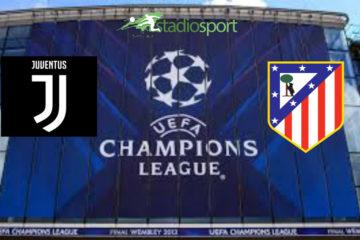 Juventus-Atletico Madrid, 5° giornata di Champions League