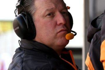 Zak Brown, amministratore delegato della McLaren. Fonte: Twitter Zak Brown