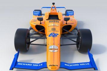 Lando Norris, pilota della McLaren con il rendering della vettura. Fonte: Twitter Norris