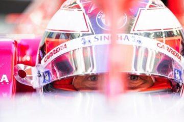 Raikkonen al volante della nuova Alfa Romeo. Fonte: Twitter Raikkonen
