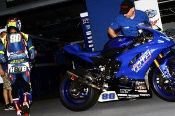 Superbike, la moto rubata Barbera