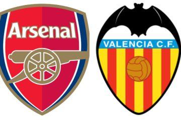 Possibili schieramenti Arsenal-Valencia