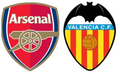Potenziali schieramenti Arsenal-Valencia