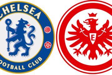 Possibili schieramenti di Chelsea e Eintracht Francofrote