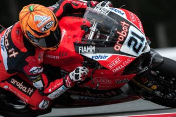Michael Ruben Rinaldi Superbike test di Misano 2019 e Imola 2019